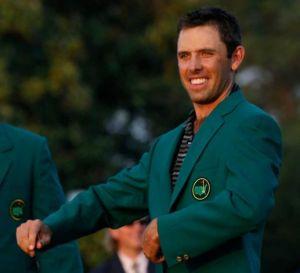 Charles Schwartzel green jacket